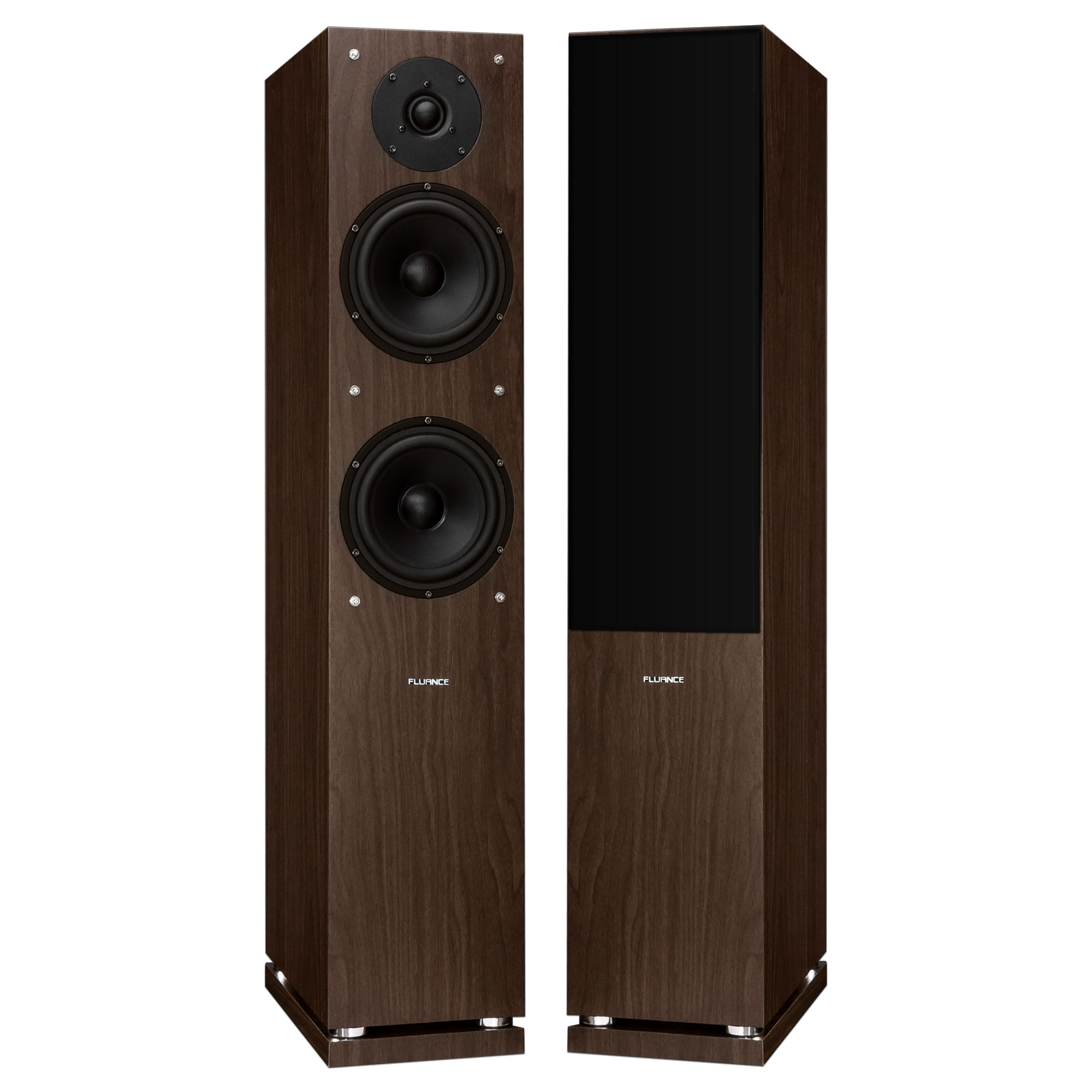Classic Elite Series High Definition Two-way Floorstanding Main Speakers (Natural Walnut)