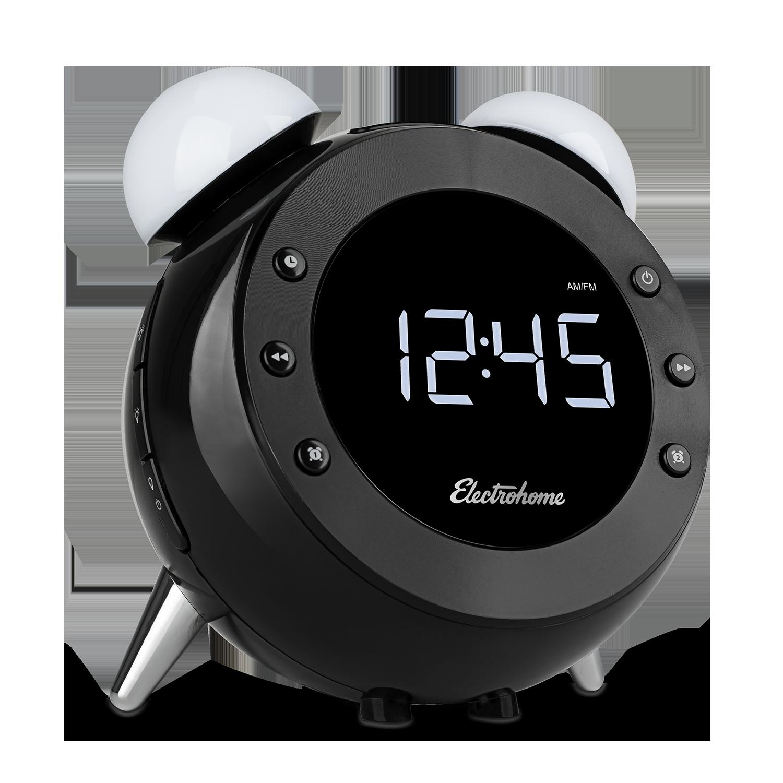 Retro Alarm Clock Radio