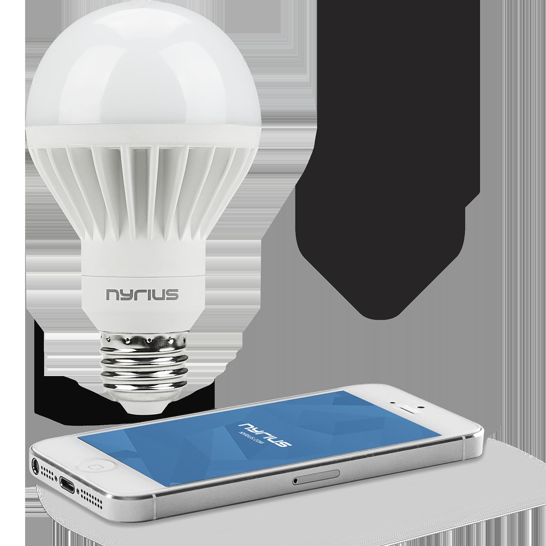 Wireless Smart LED White Light Bulb