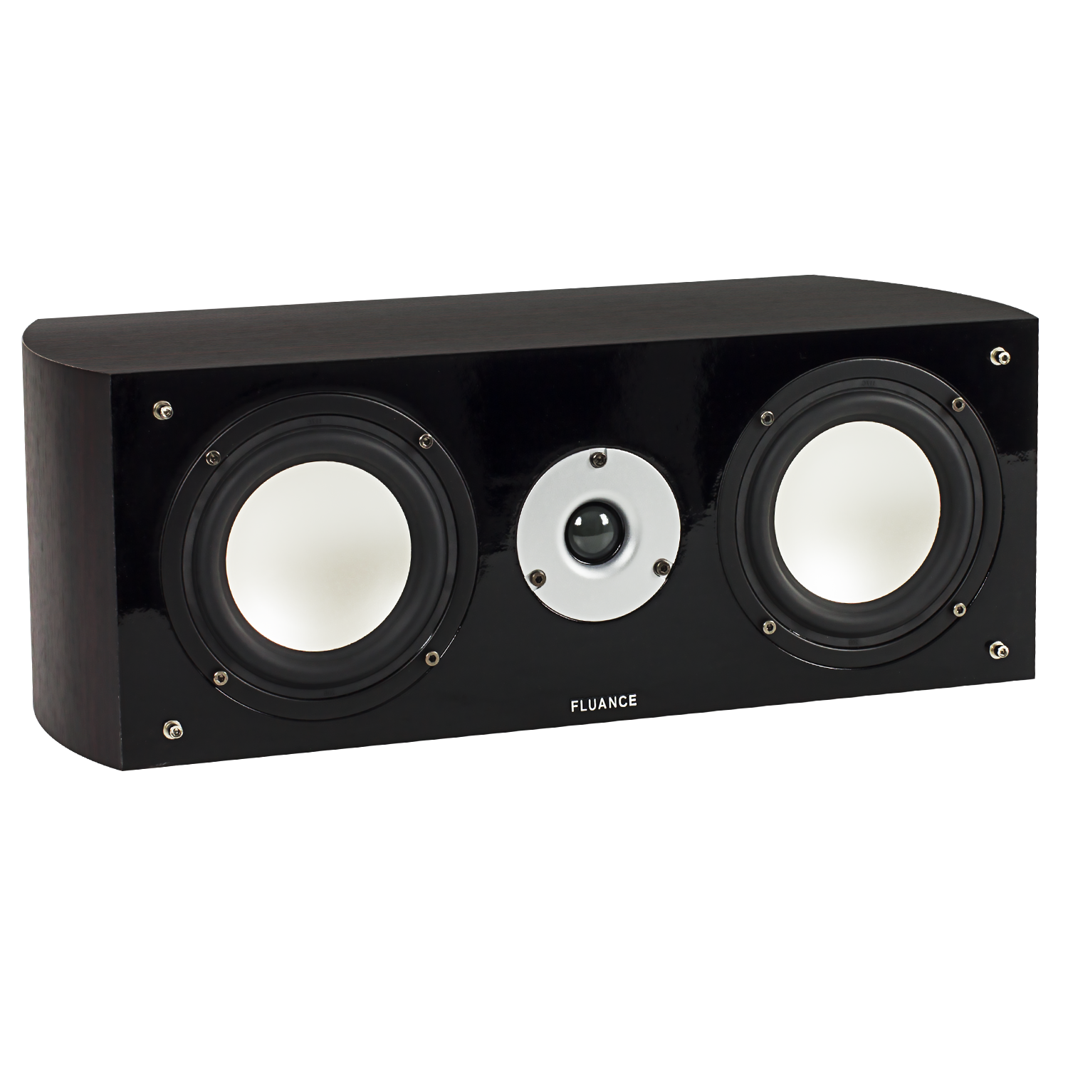 XL7C High Performance Two-way Center Channel Speaker - Dark Walnut