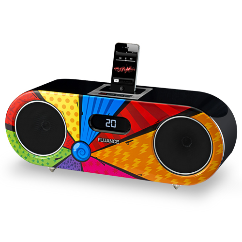 Limited Edition High Performance Wood Speaker Dock Music System