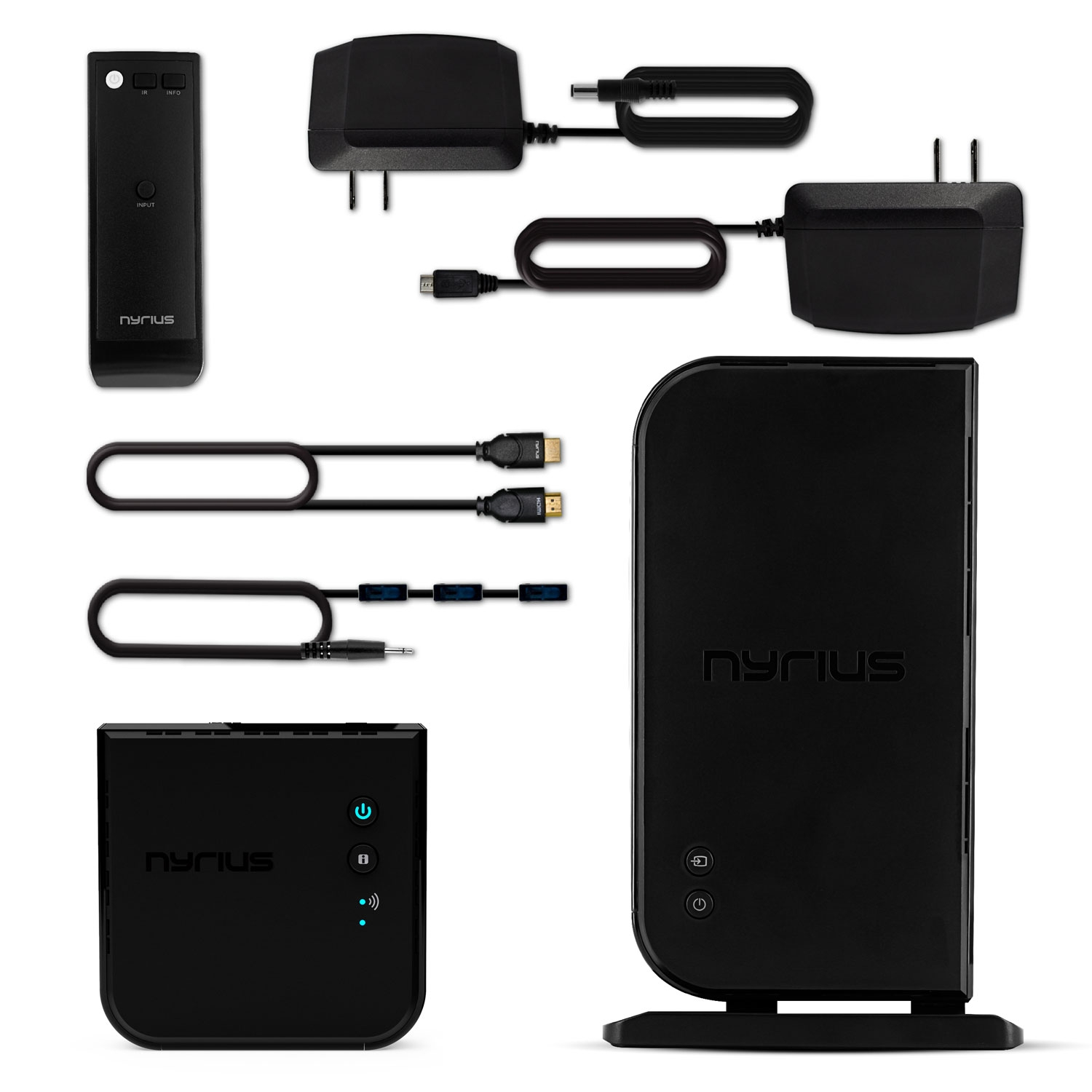 ARIES Home+ Wireless HDMI 2 Input Transmitter & Receiver