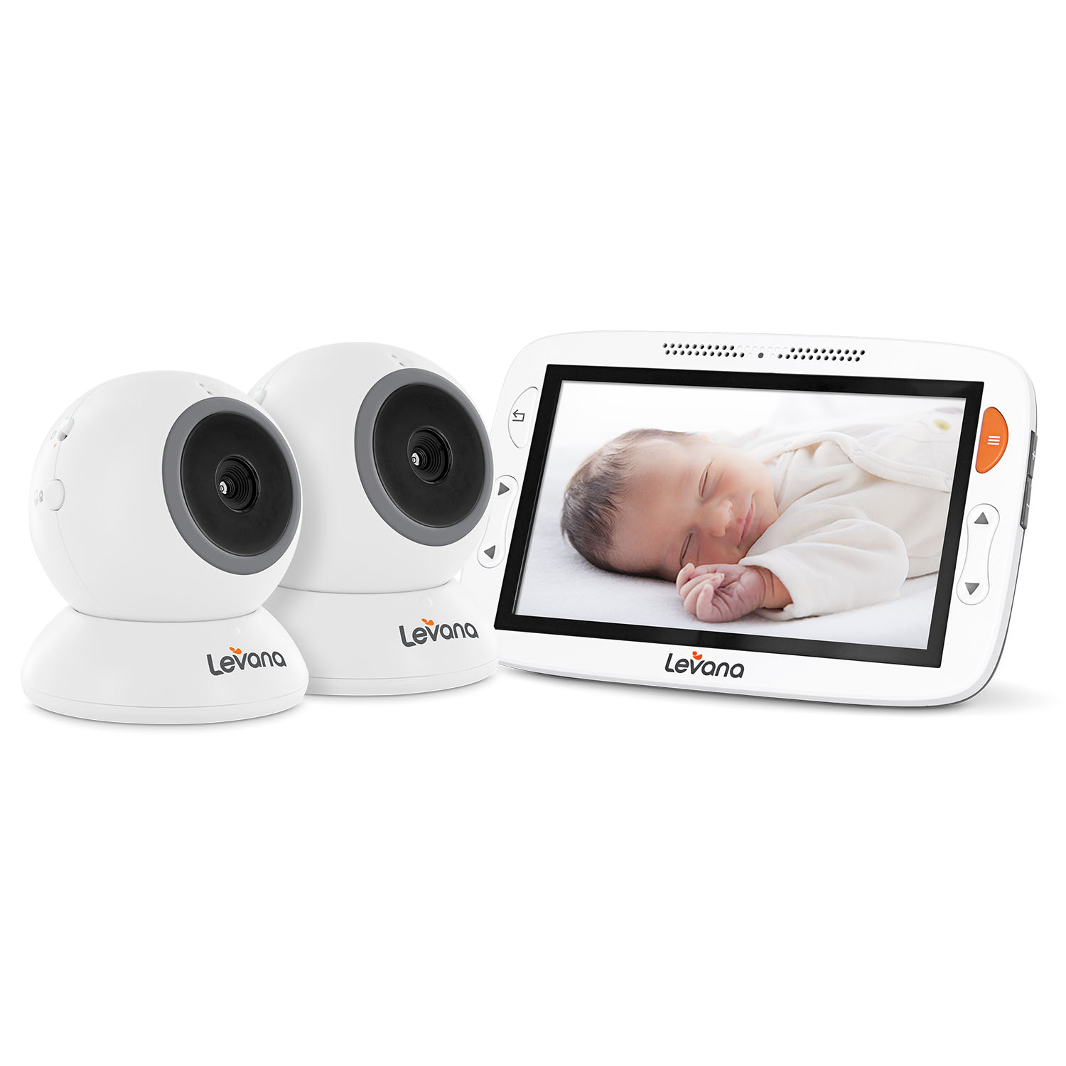 "Alexa™ 5"" LCD Video Baby Monitor (2 Camera Set)"