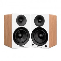 "Ai41W Powered 5"" Stereo Bookshelf Speakers"