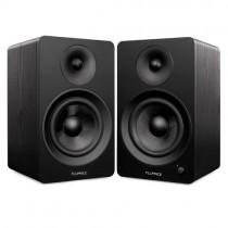 "Ai60 Powered 6.5"" High Performance Bookshelf Speakers - Black - Main 2"