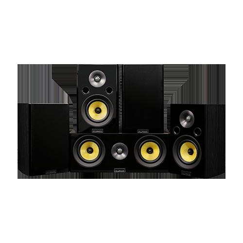 Signature Series Hi-Fi 5.0 Home Theater Speaker System with Bookshelf Speakers - Alternate