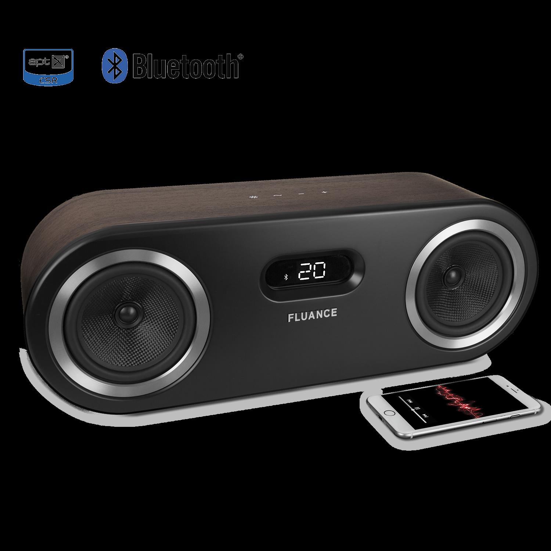 Perfect Fluance Fi50 Two Way High Performance Wireless Bluetooth Wood Speaker System