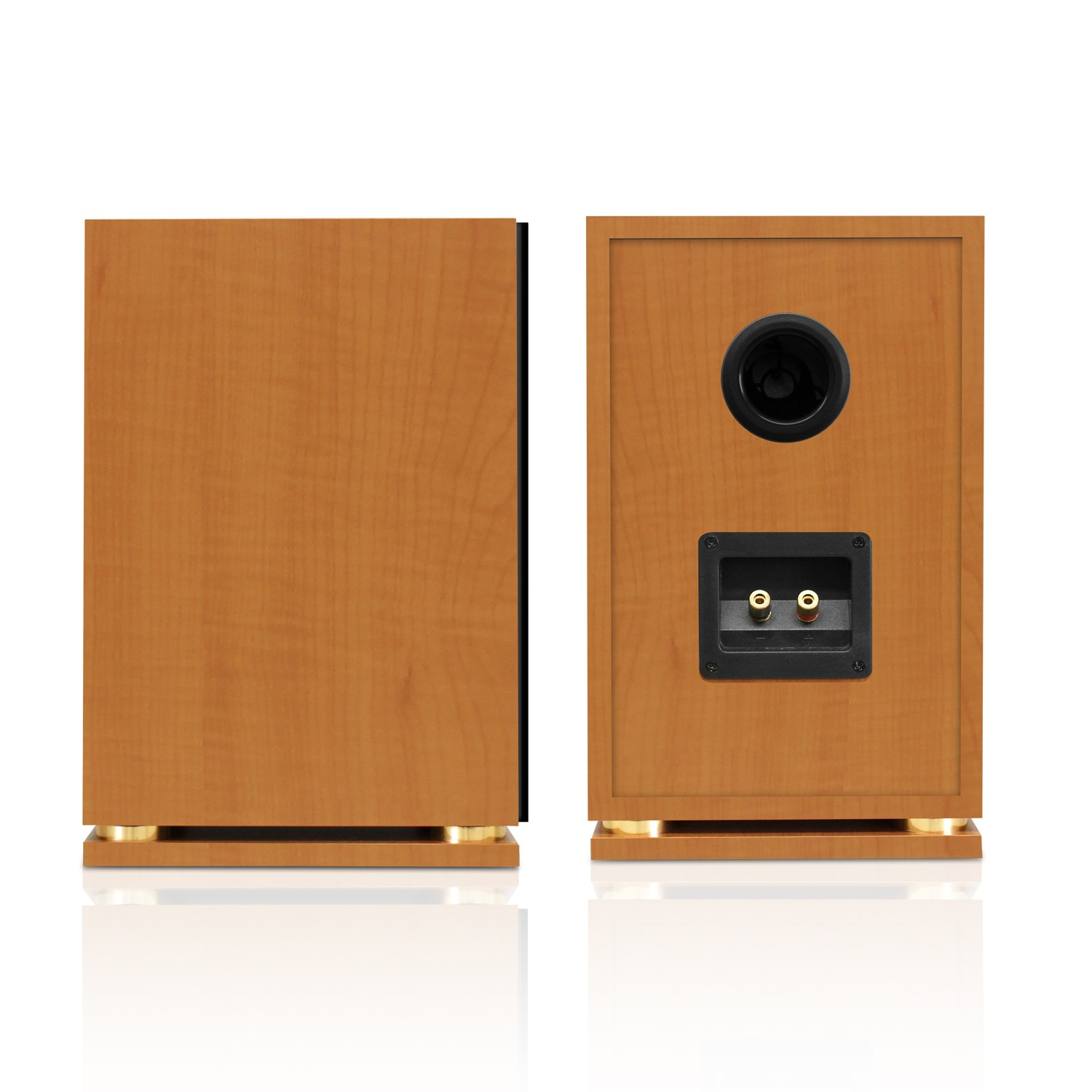 Fluance SX6 High Definition Two Way Bookshelf Loudspeakers