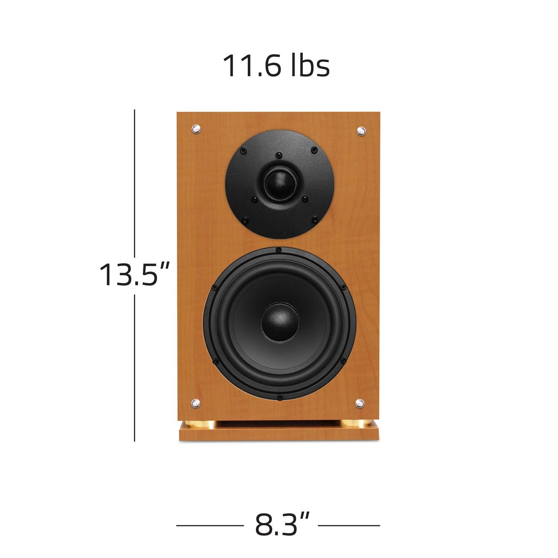 Fluance SX6 High Definition Two Way Bookshelf Loudspeakers