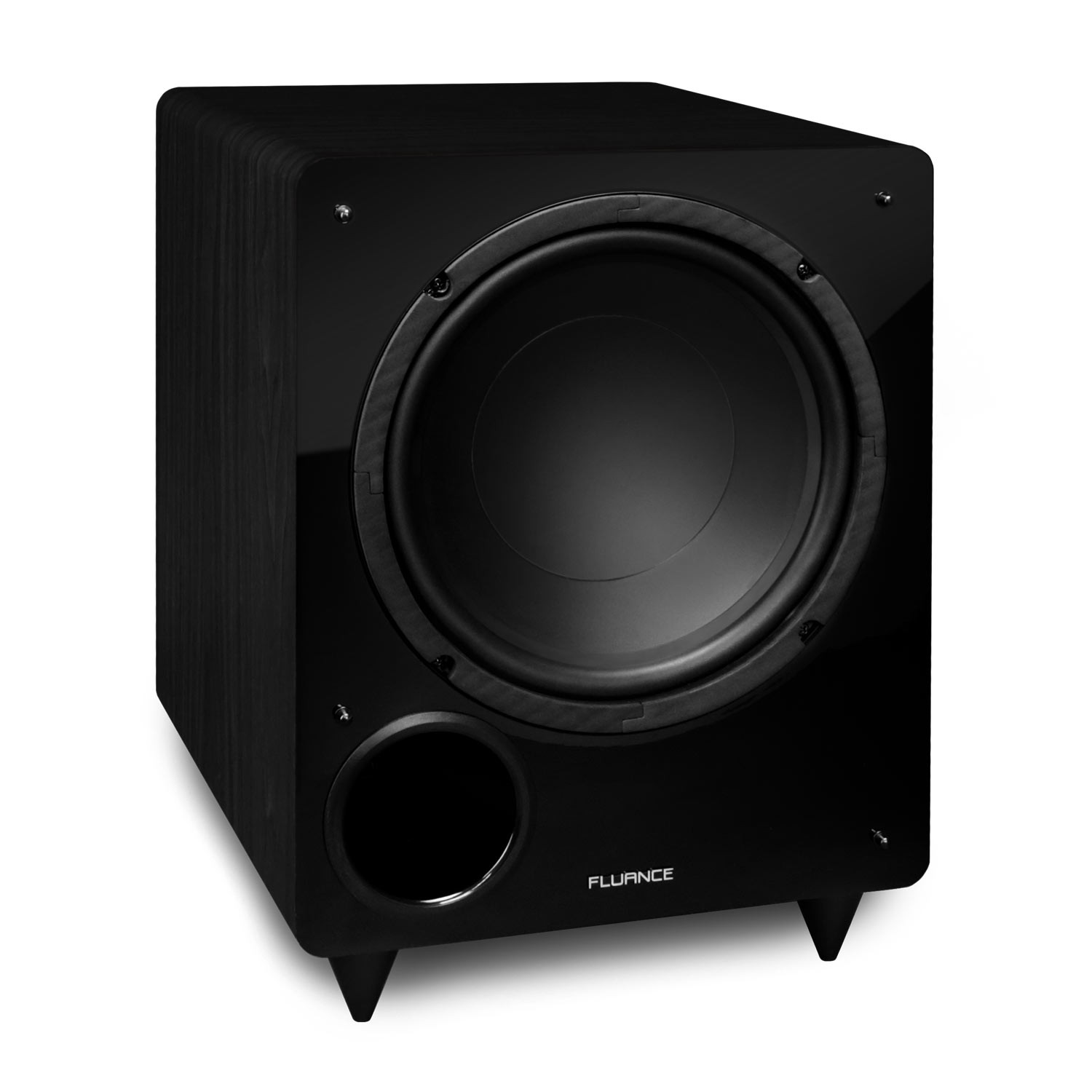 Fluance DB10 10-inch Low Frequency Powered Subwoofer for Home Theater