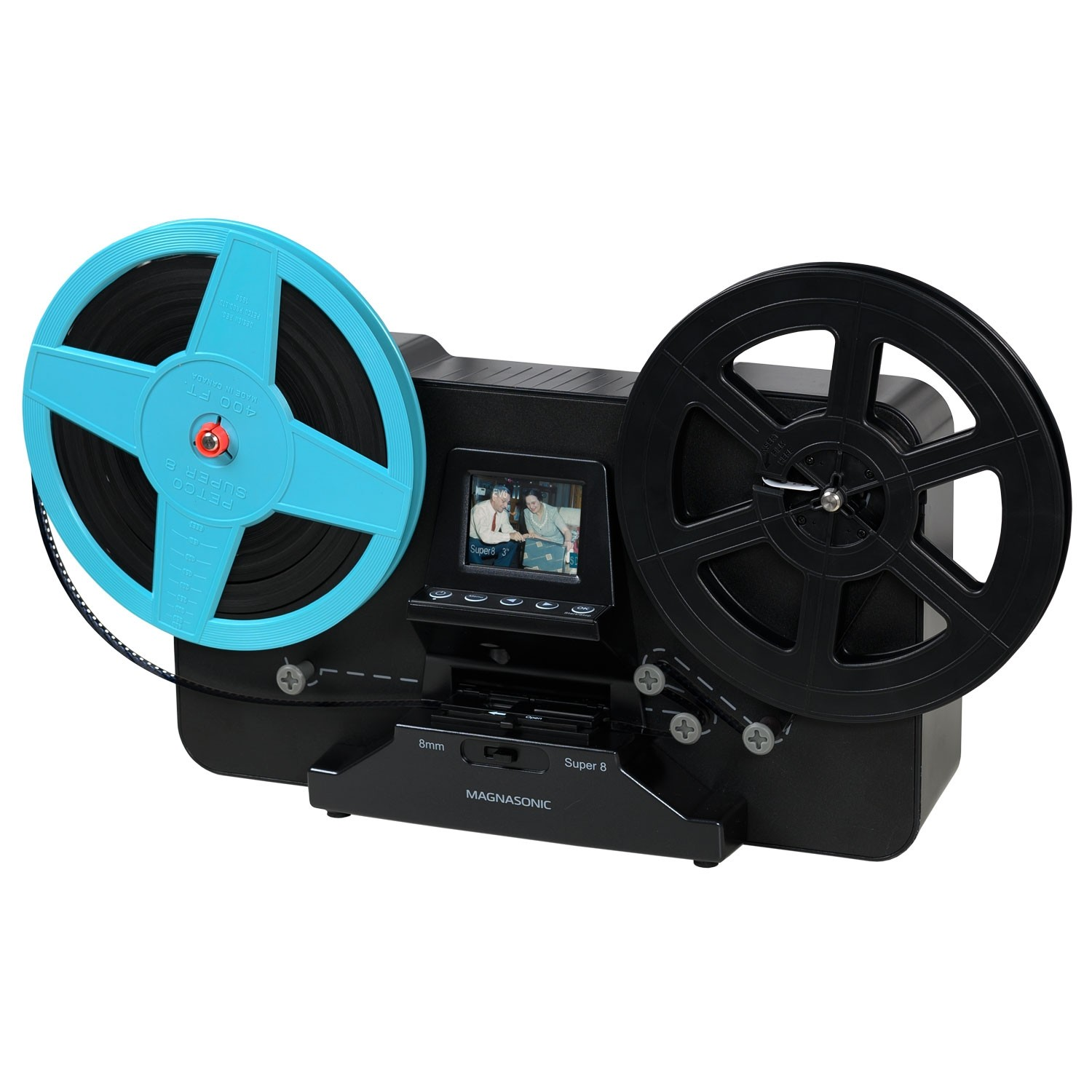 Super 8/8mm Film Scanner - Main