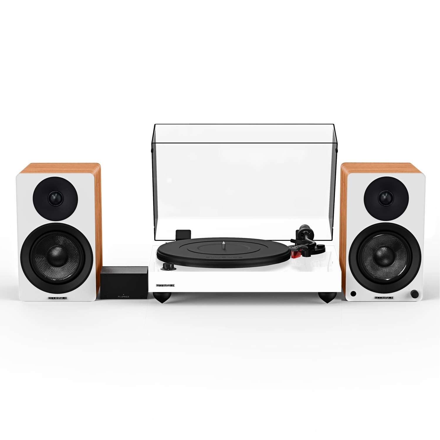 """Reference RT83 High Fidelity Vinyl Turntable with PA10 Phono Preamp and Ai41 Powered 5"""" Bookshelf Speakers - Main"""