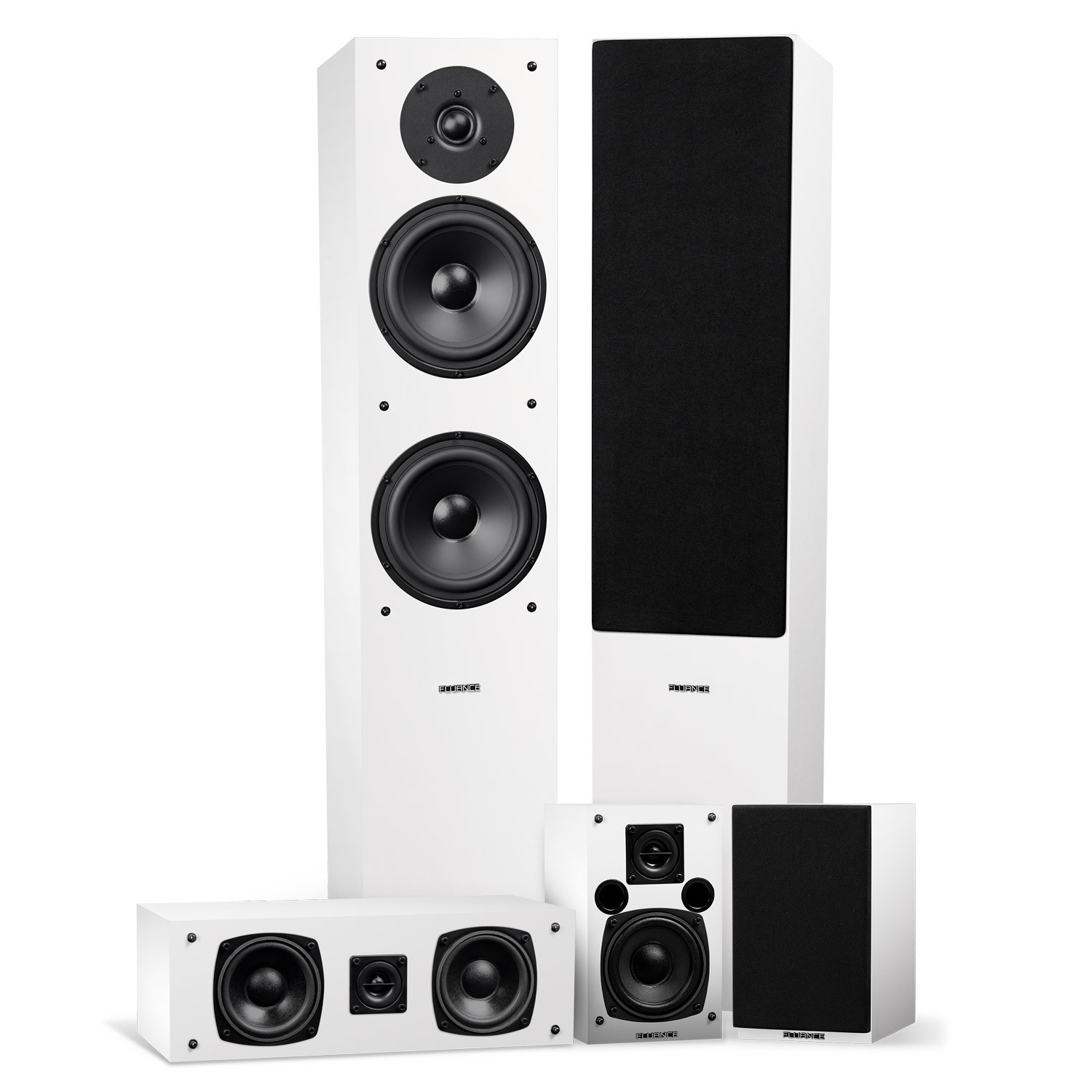 Elite Series Surround Sound Home Theater 5.0 Channel Speaker System
