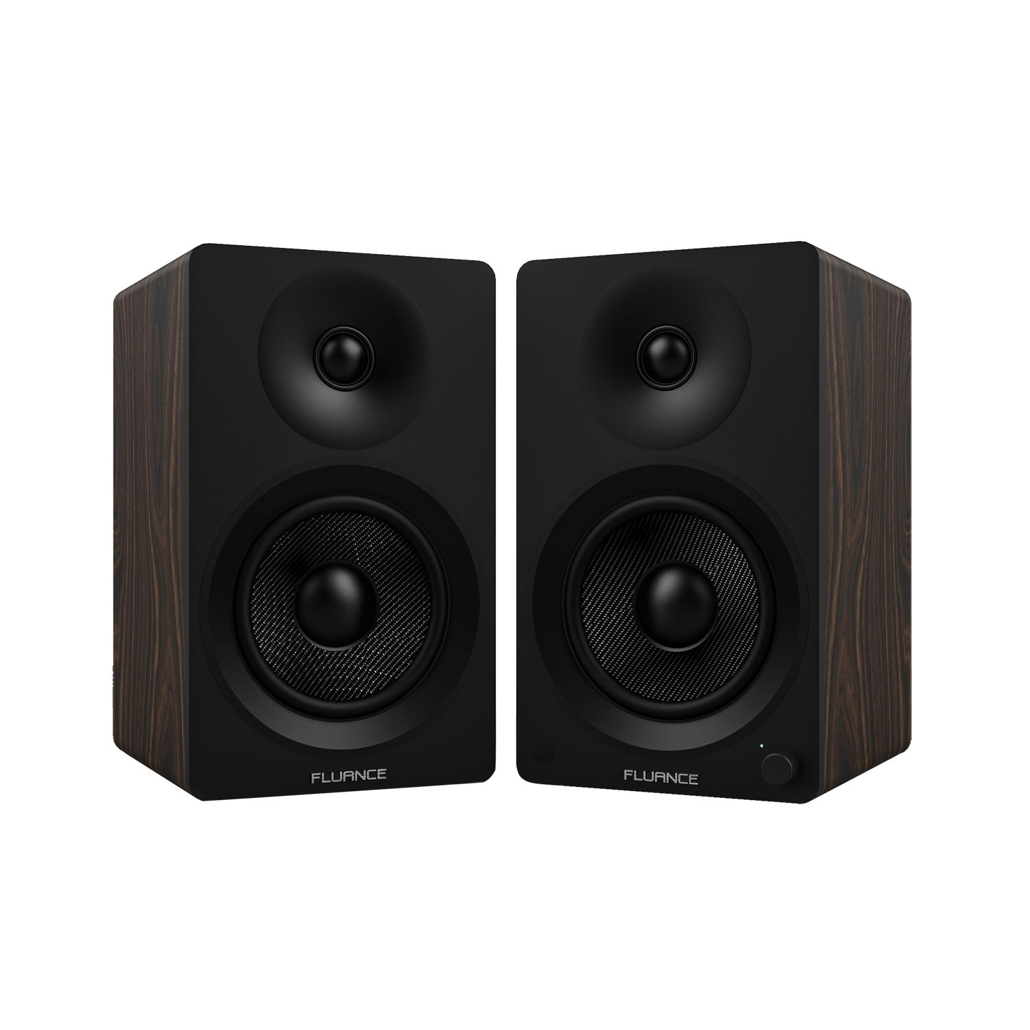 "Ai40 Powered 5"" Bookshelf Speakers - Natural Walnut - Main"