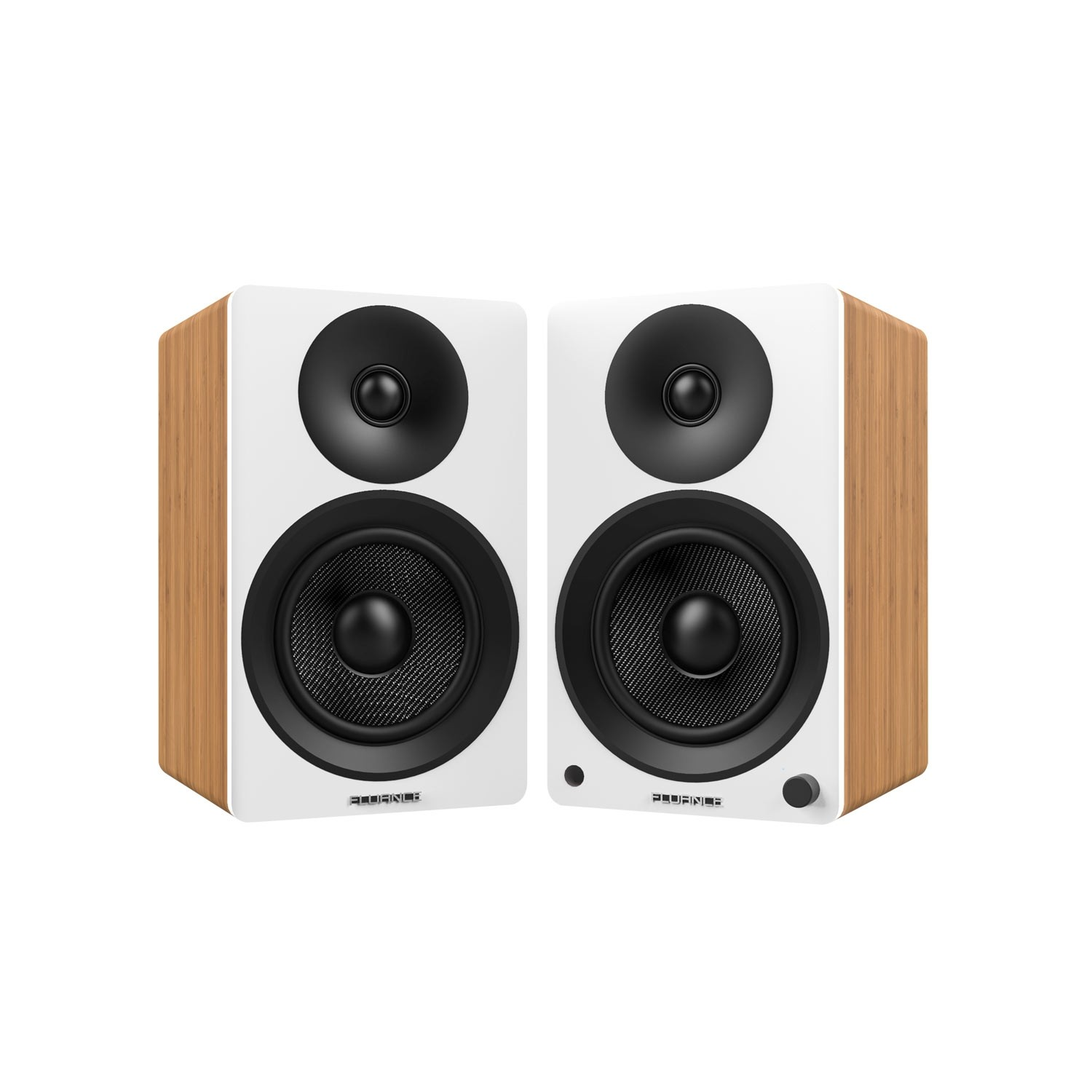 "Ai40 Powered 5"" Bookshelf Speakers - Lucky Bamboo - Main"