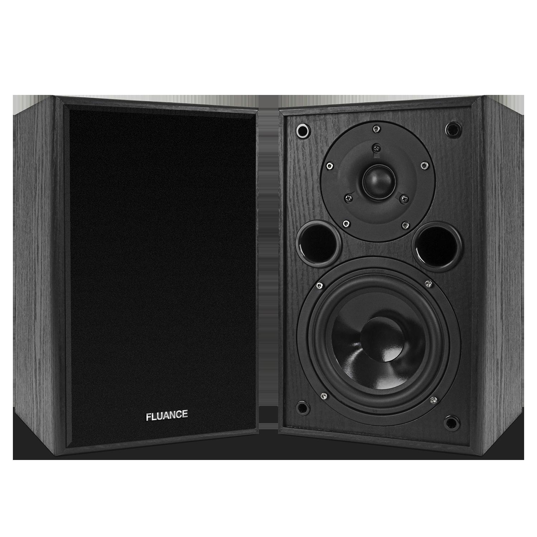 Fluance AV5 Black Ash Surround Sound Speakers Main