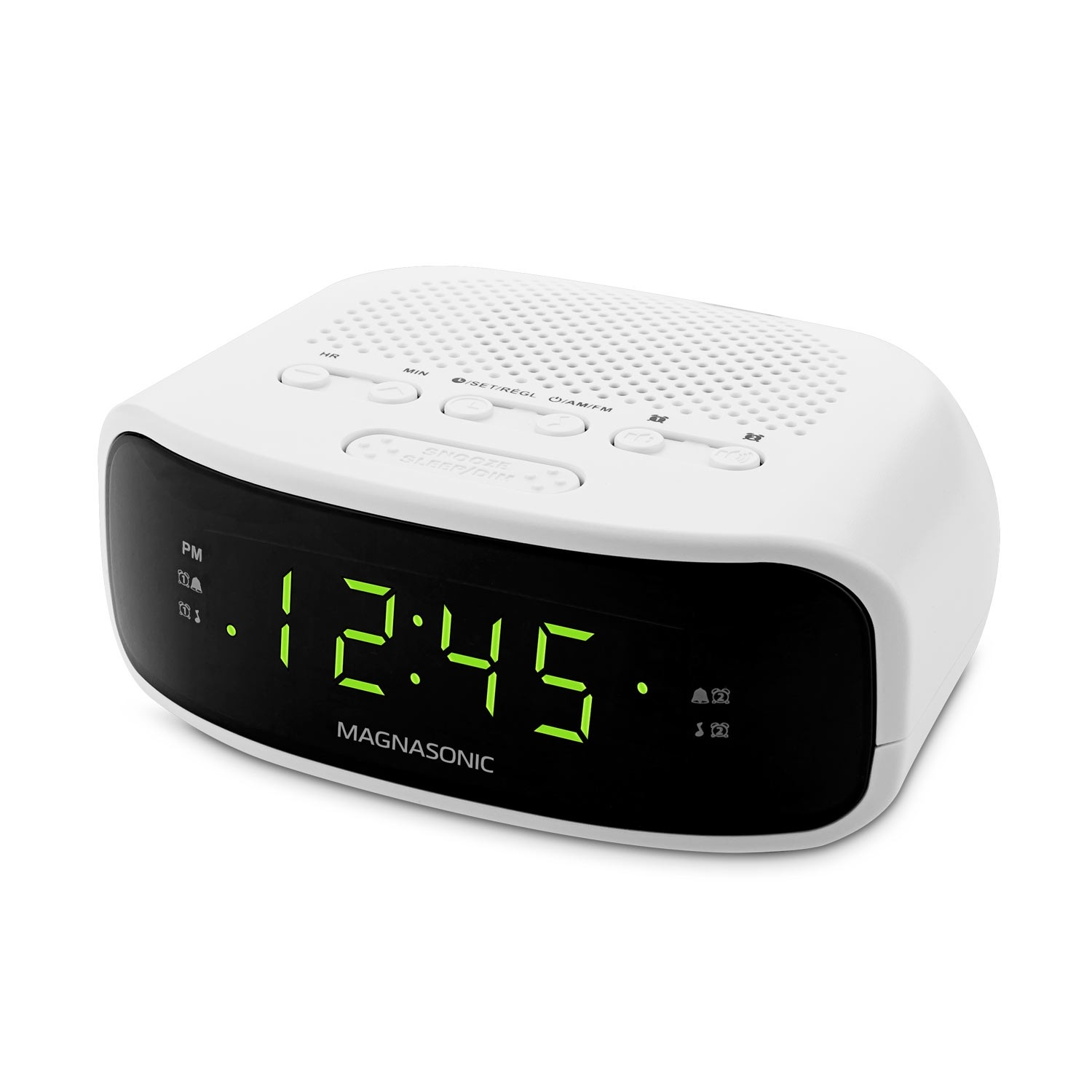 Electrohome Digital AM/FM Clock Radio EAAC201