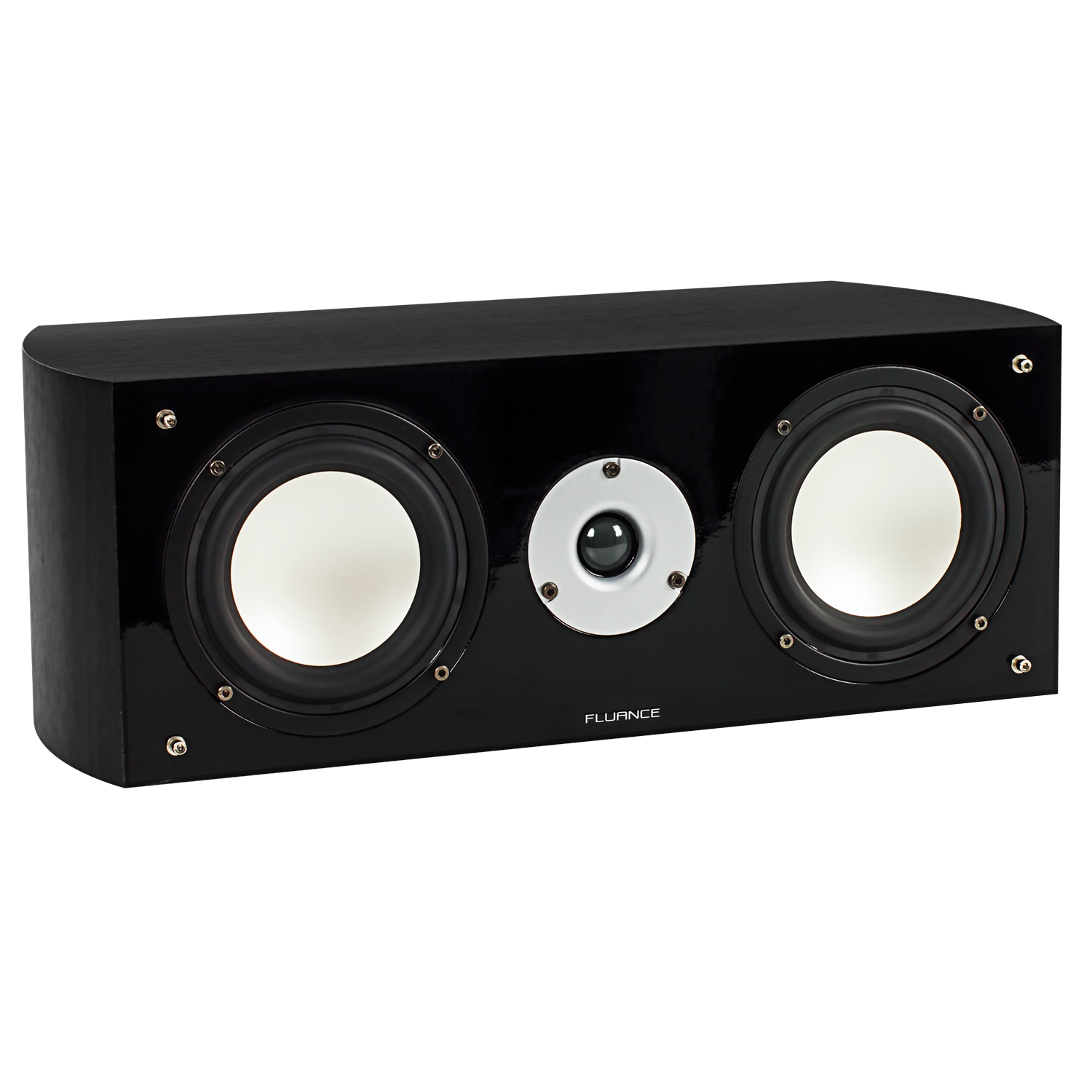 Fluance XL7C Black Center Channel Speaker Main