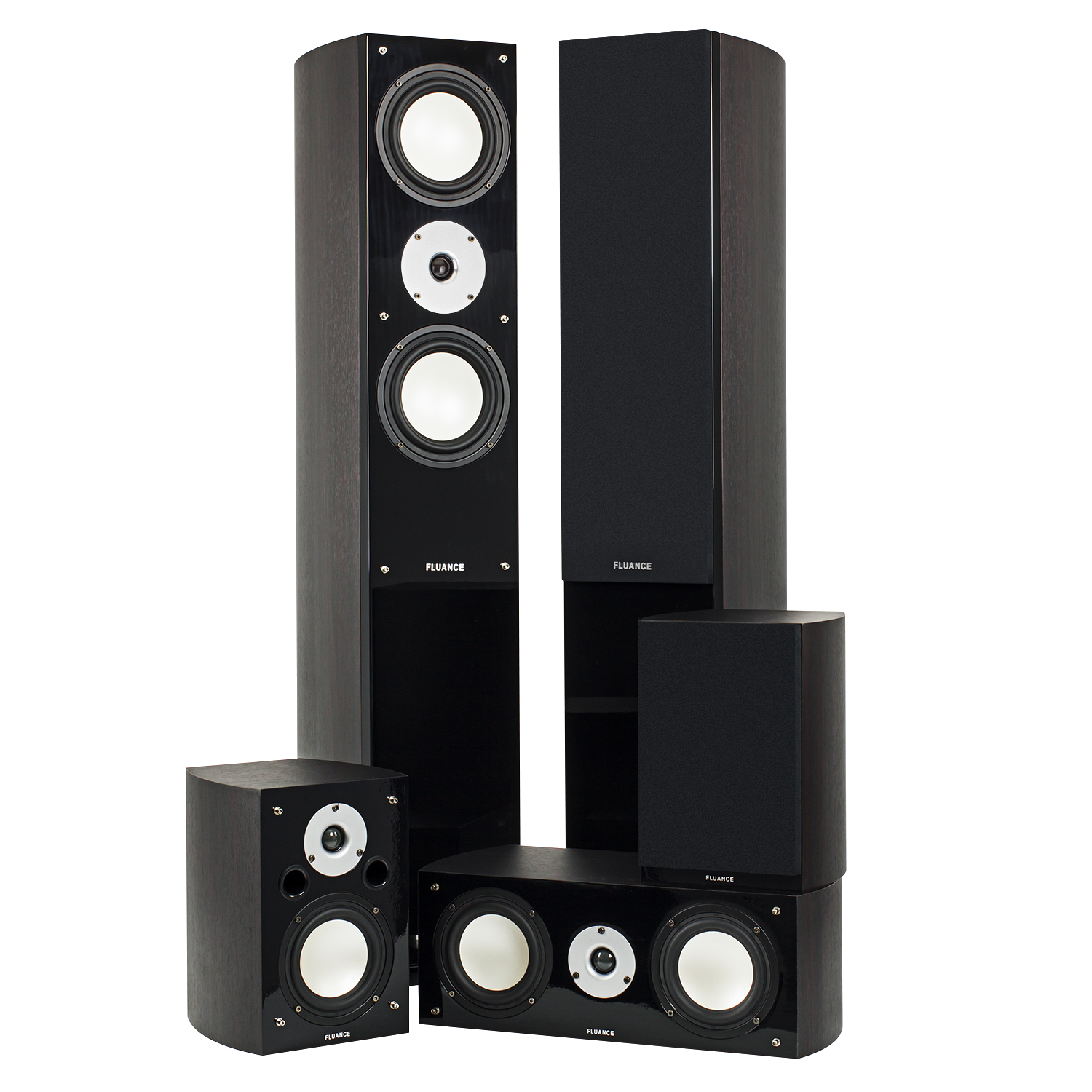 XL Series Dark Walnut Home Theater System