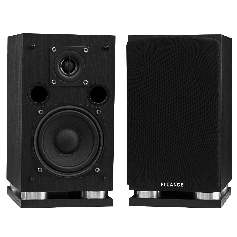 Fluance SX Series Surround Sound Speakers - Black