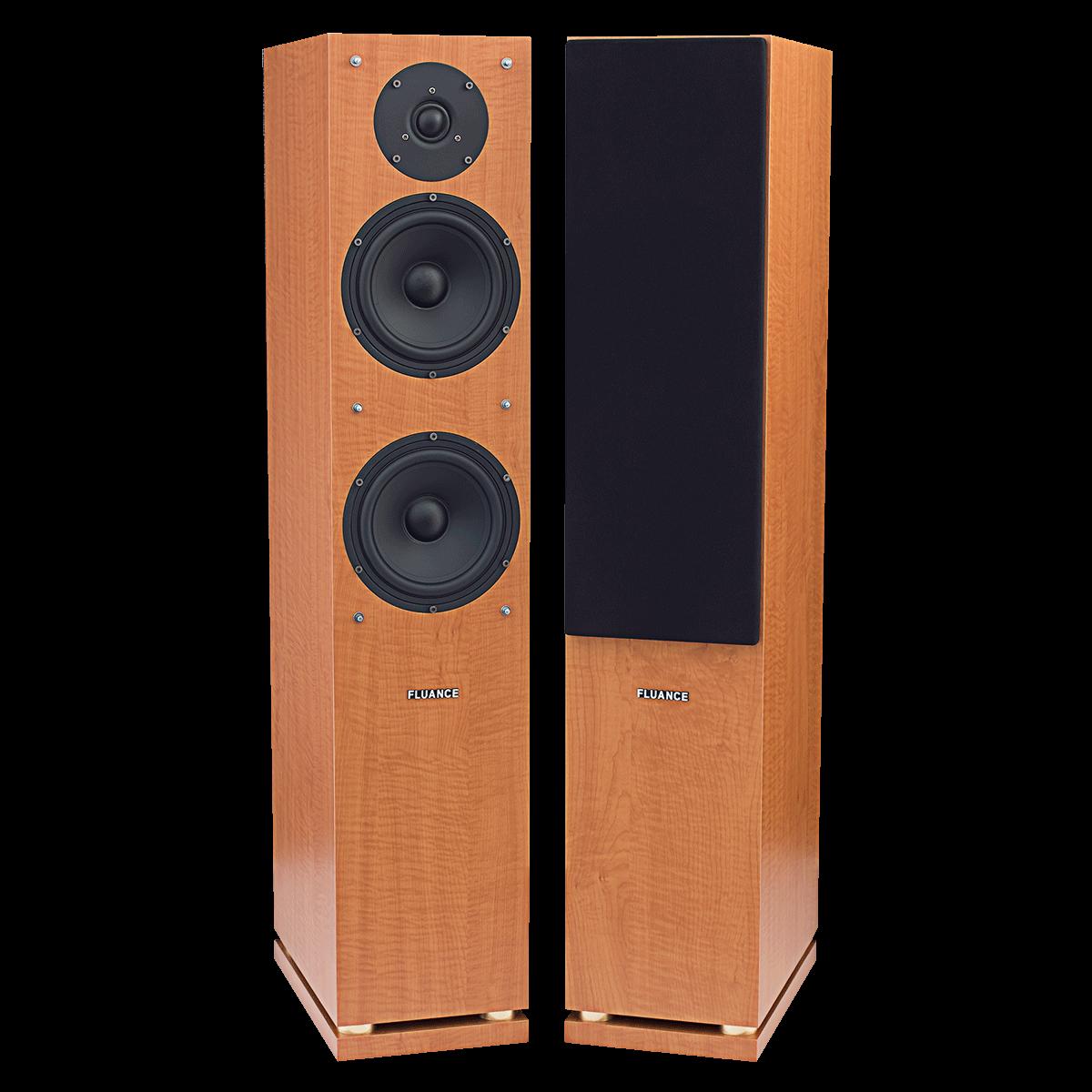 Fluance SX Series Beech Tower Speakers Main