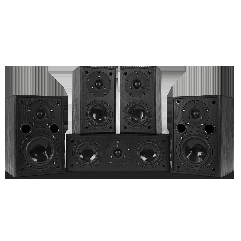 AV5HTB Dynamic Home Theater Surround Sound Speaker System