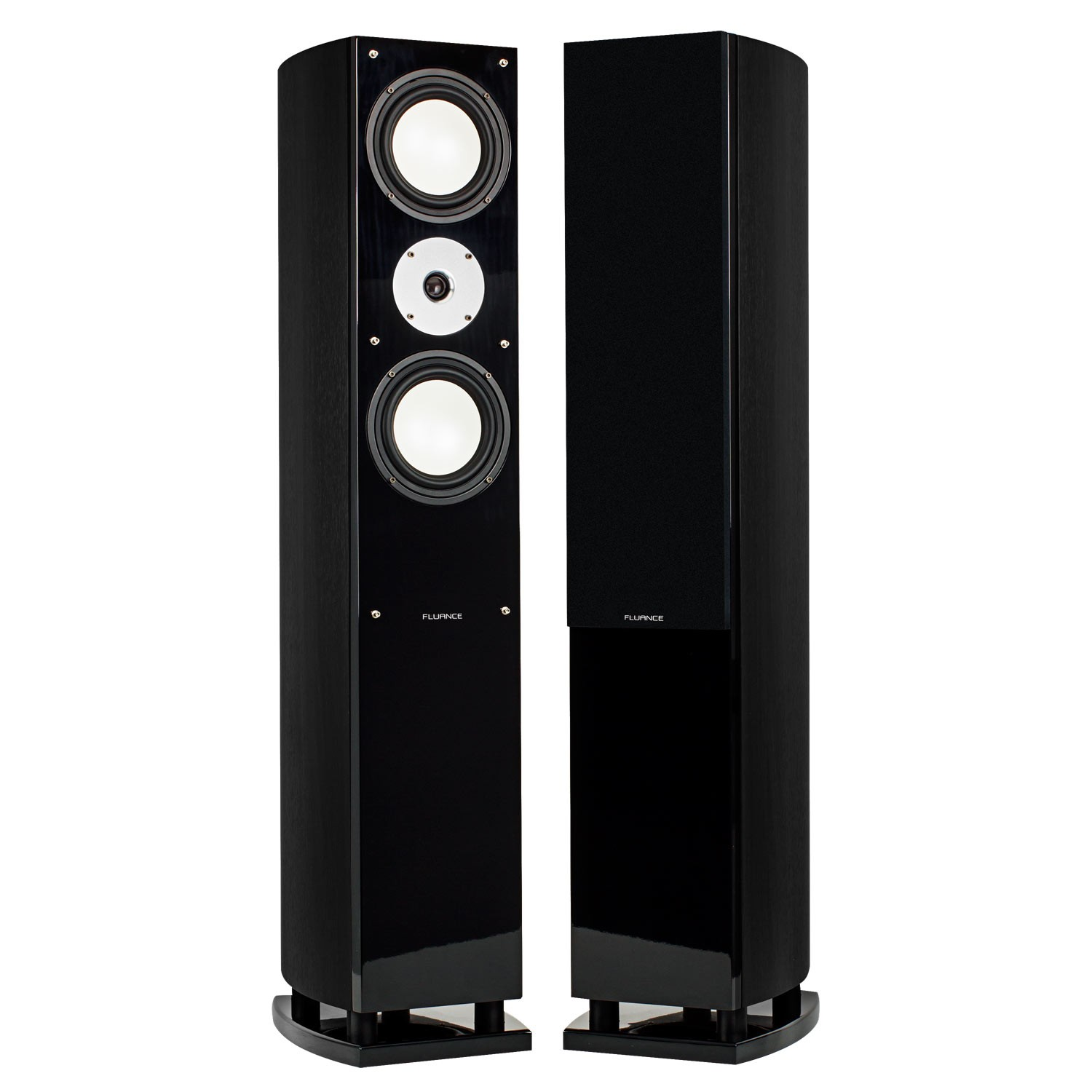 Fluance XL7FBK Black Ash Floorstanding Speakers Alternate