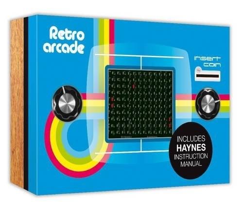 Haynes Build Your Own Retro Arcade Kit