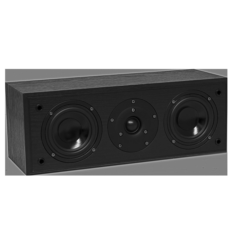 Fluance AVC AV Series Black Ash Center Channel Speaker