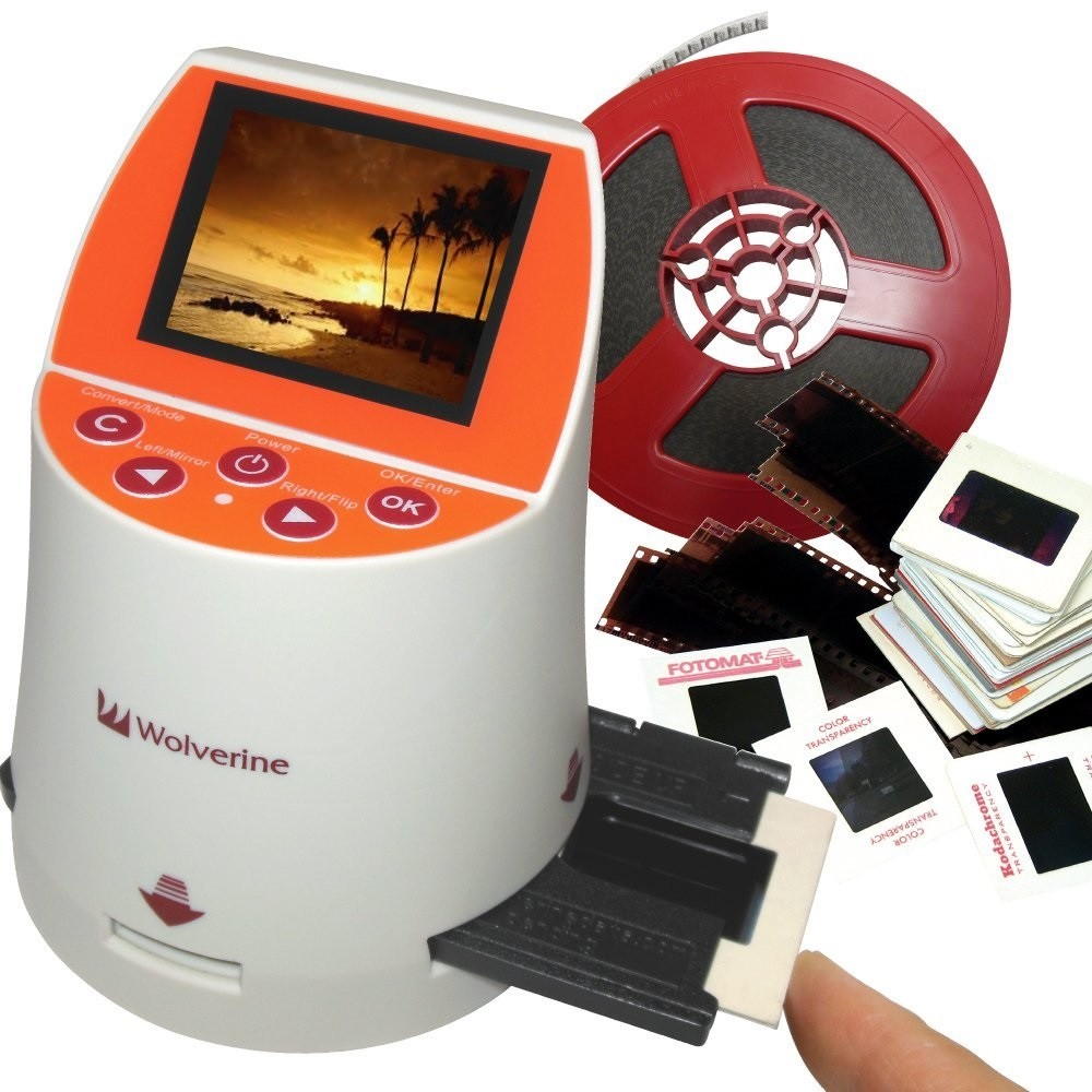 Wolverine F2D Mighty 20MP 7-in-1 Film to Digital Converter