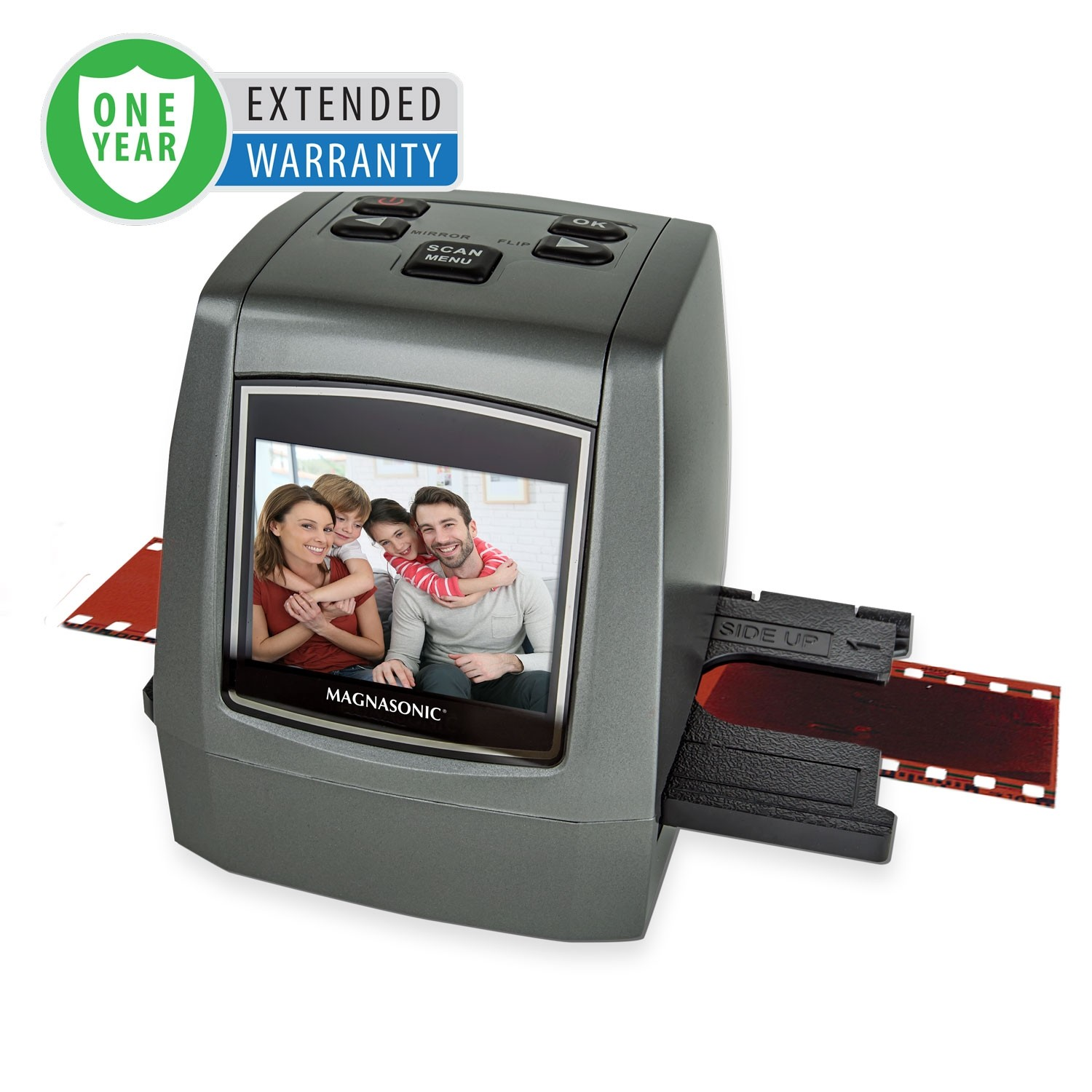 1 Year Warranty for the All-In-One 22MP Film Scanner