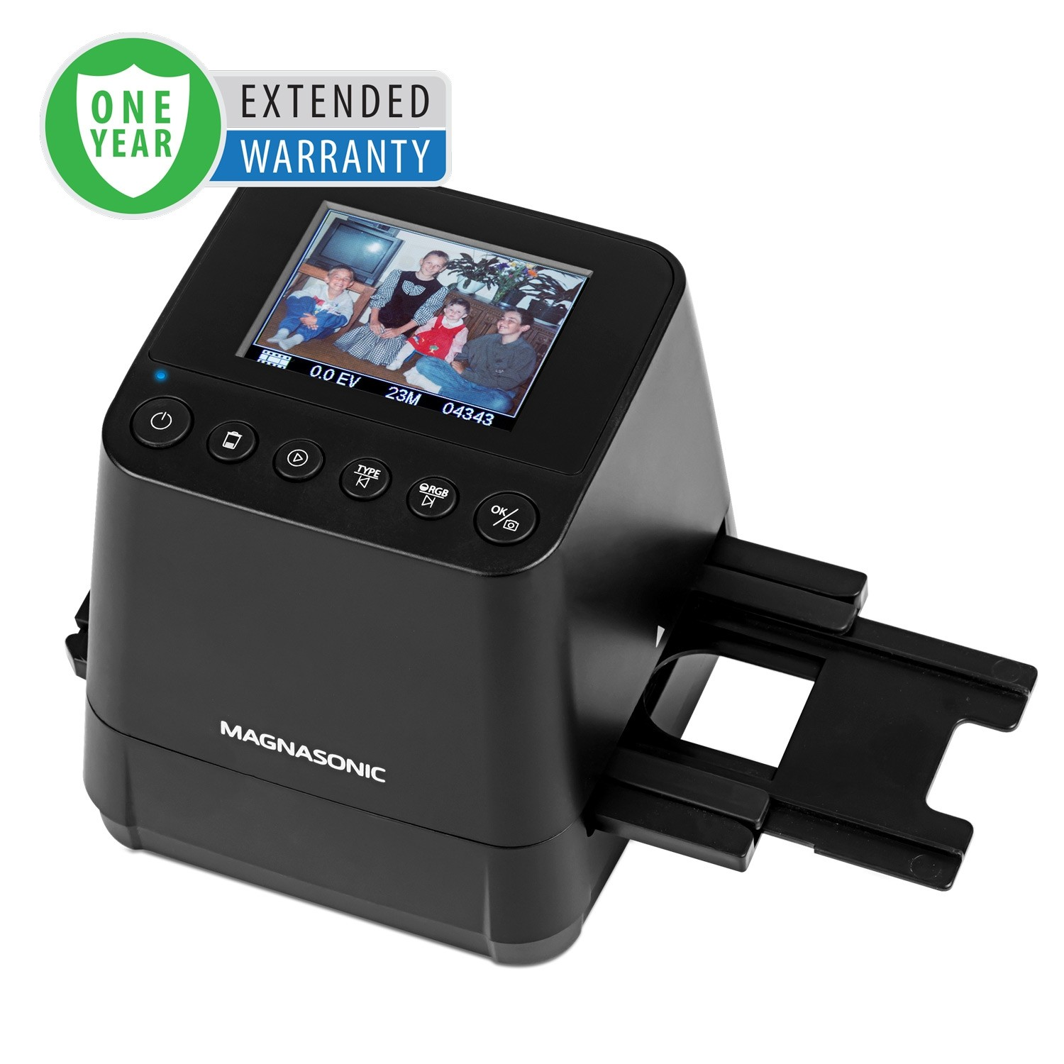 1 Year Warranty for the All-In-One 23MP Film Scanner