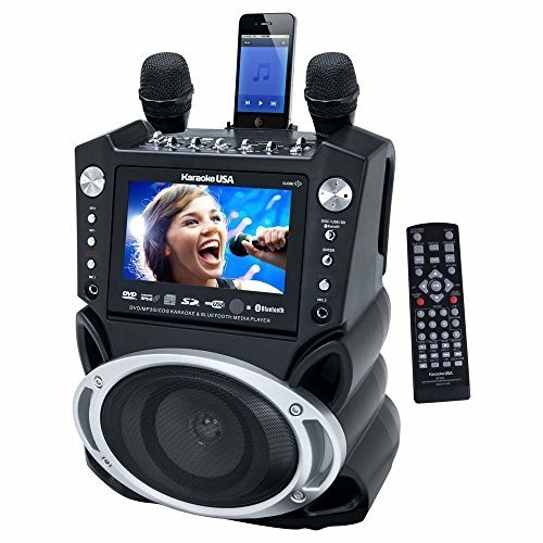 Karaoke USA GF830 DVD/CDG Karaoke Player with Bluetooth & SD Slot