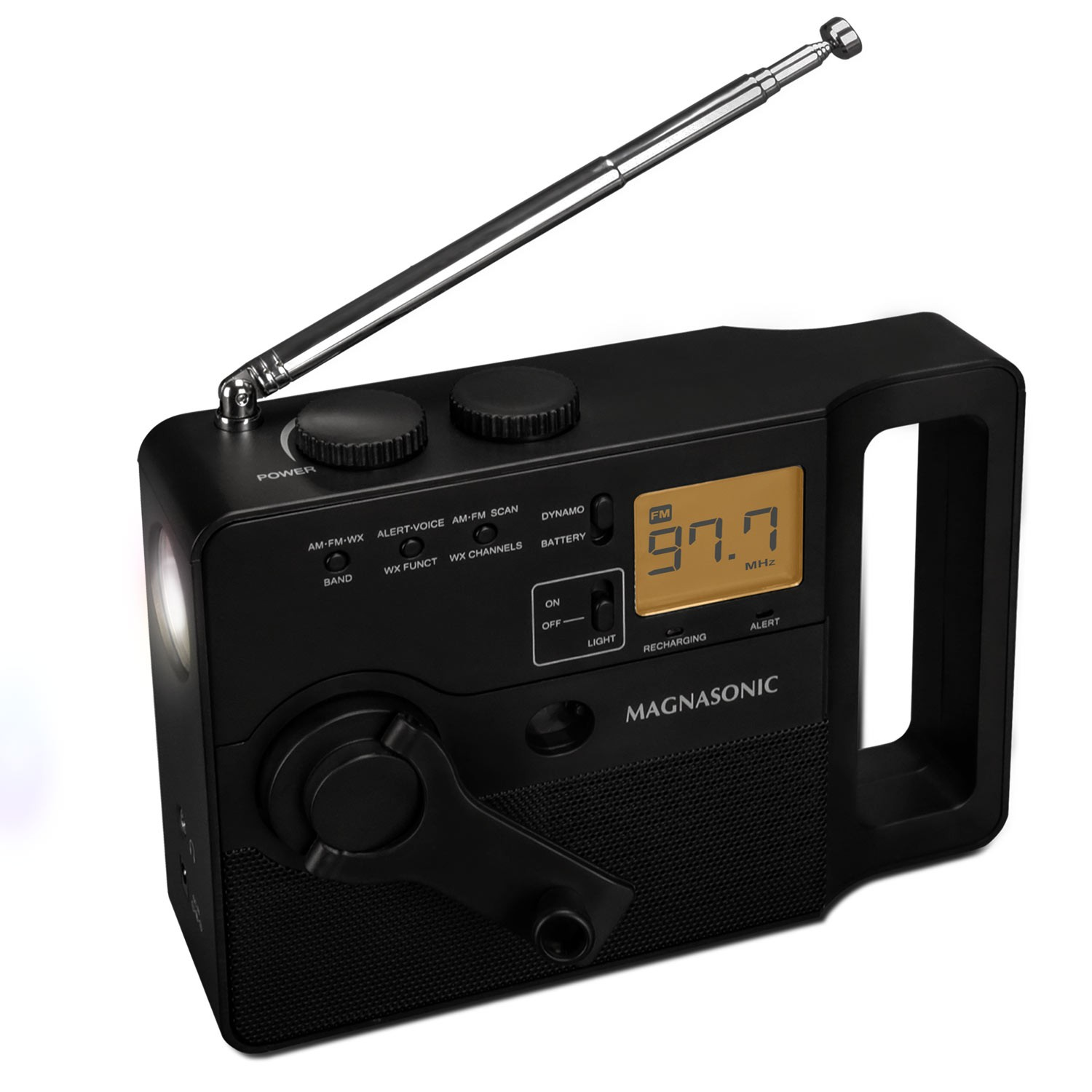 Multi-Function Hand Crank Emergency Radio