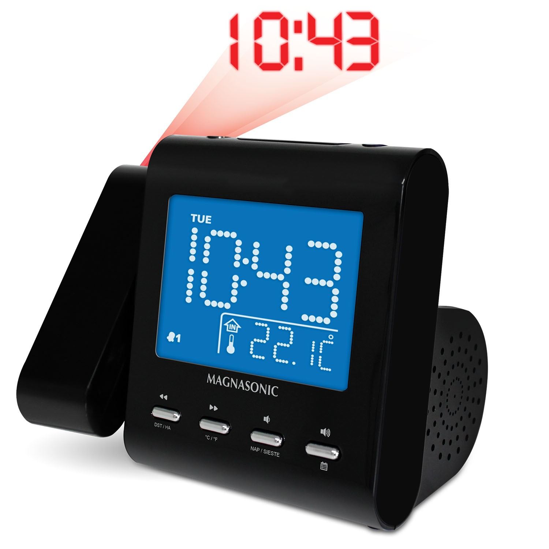 SelfSet Projection Clock Radio