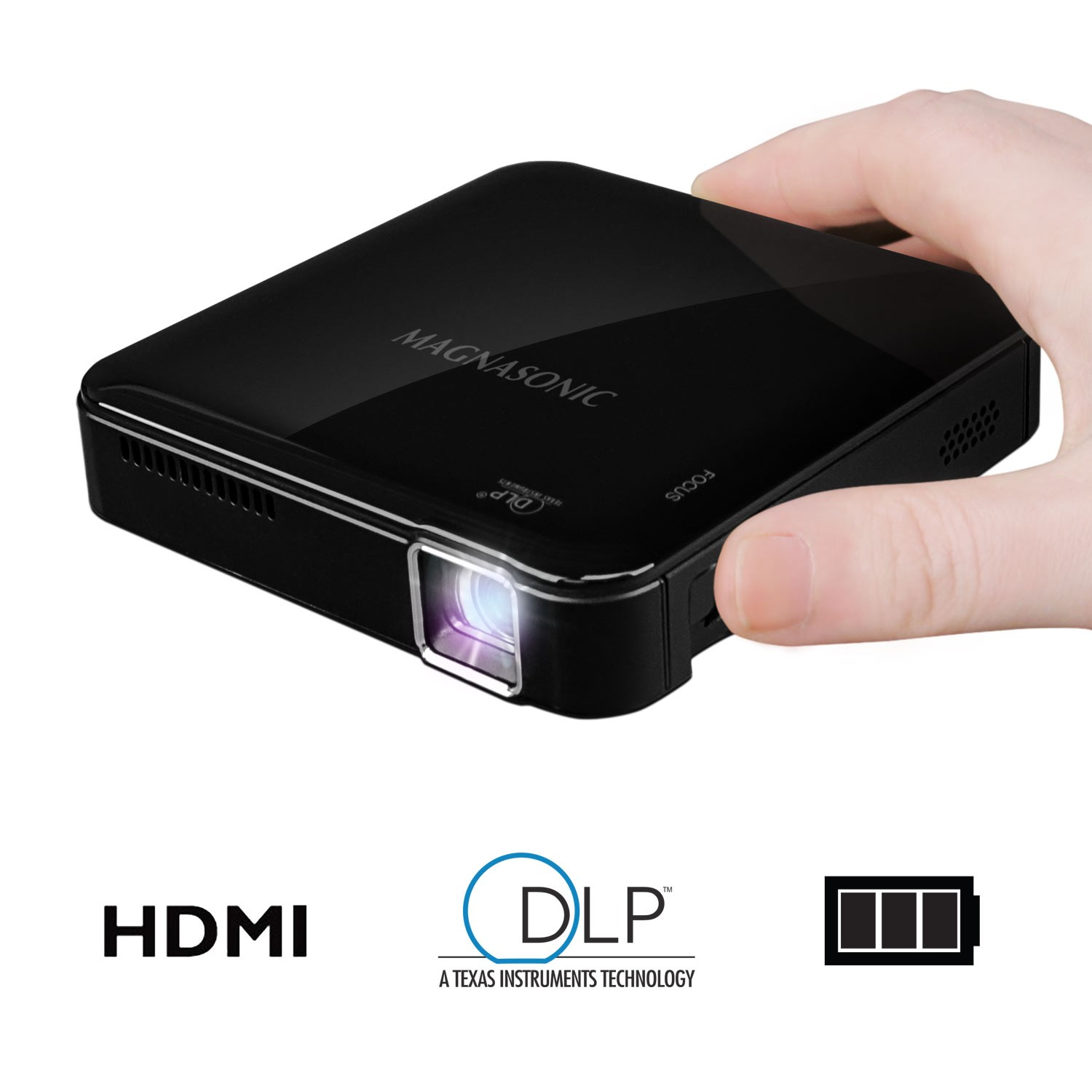 Mini Portable Pico Video Projector - Main