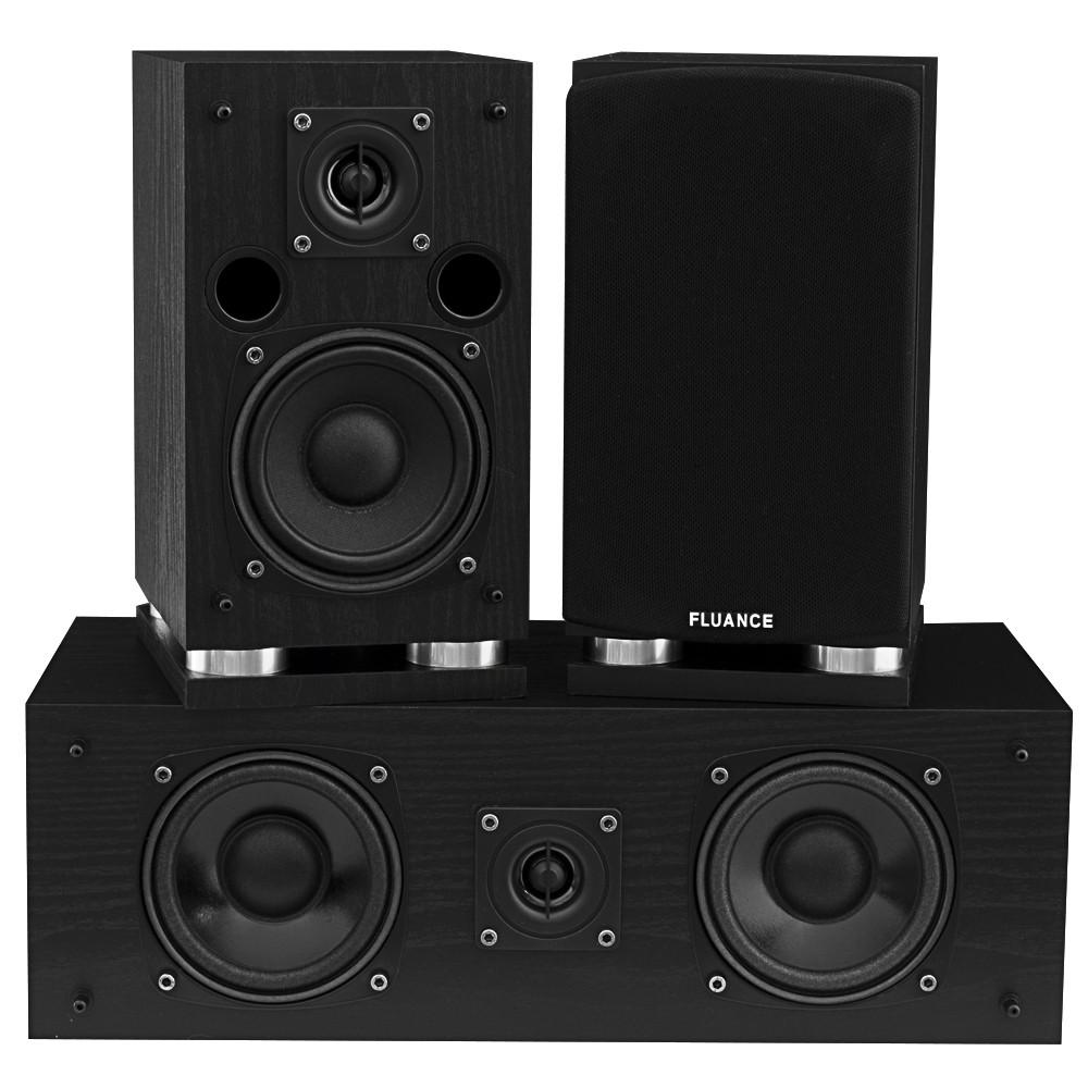 Classic Elite Series Center Channel & Surround Sound Speakers - Black
