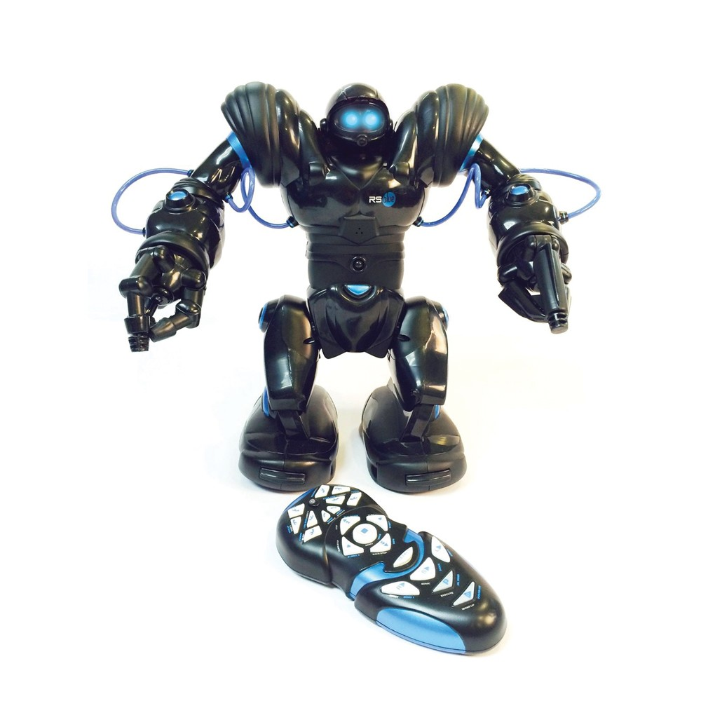 WowWee Robosapien Humanoid Toy Robot With Remote Control (Blue)