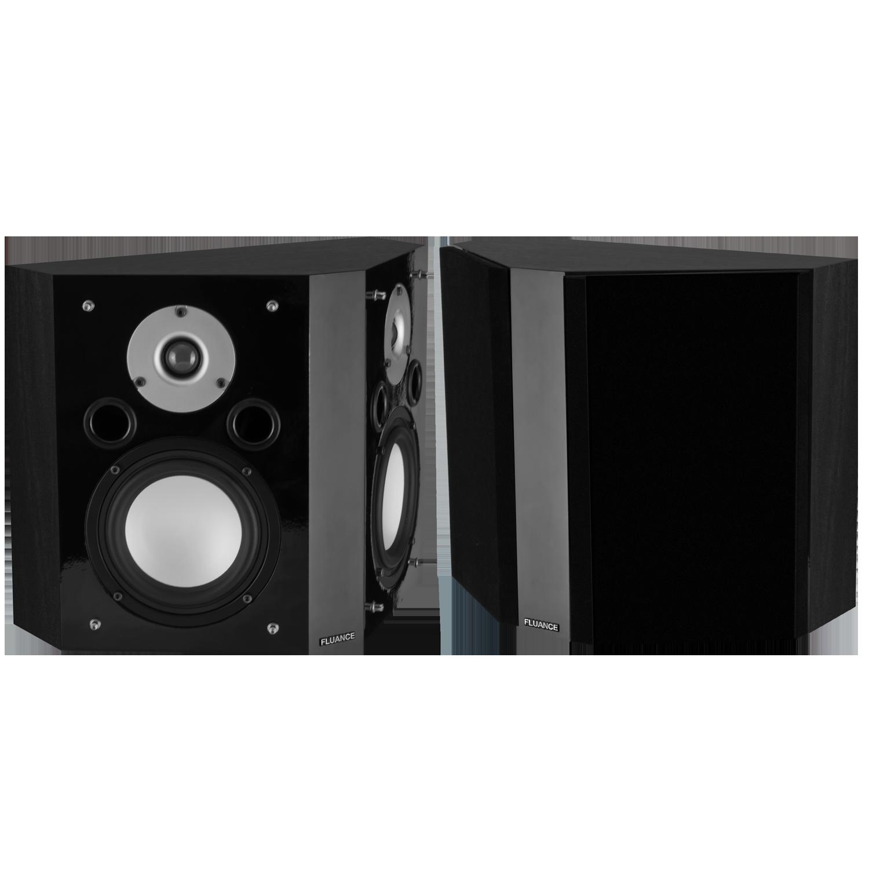Fluance XLBPBK Bipolar Surround Sound Speakers - Main