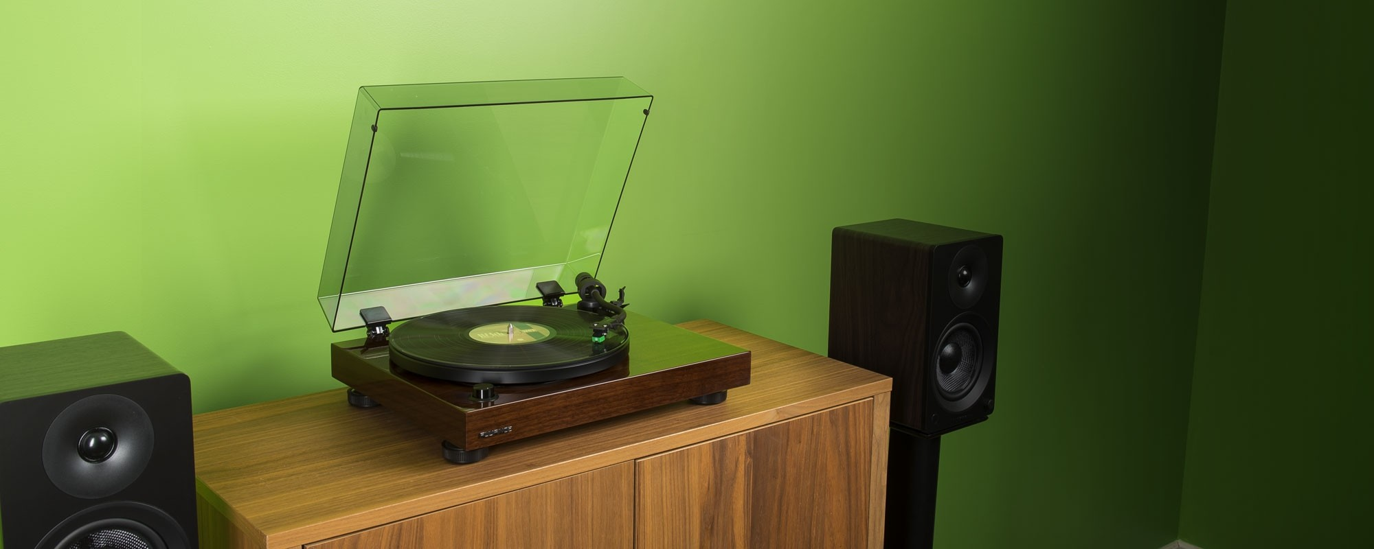 RT81 Elite High Fidelity Vinyl Turntable Record Player