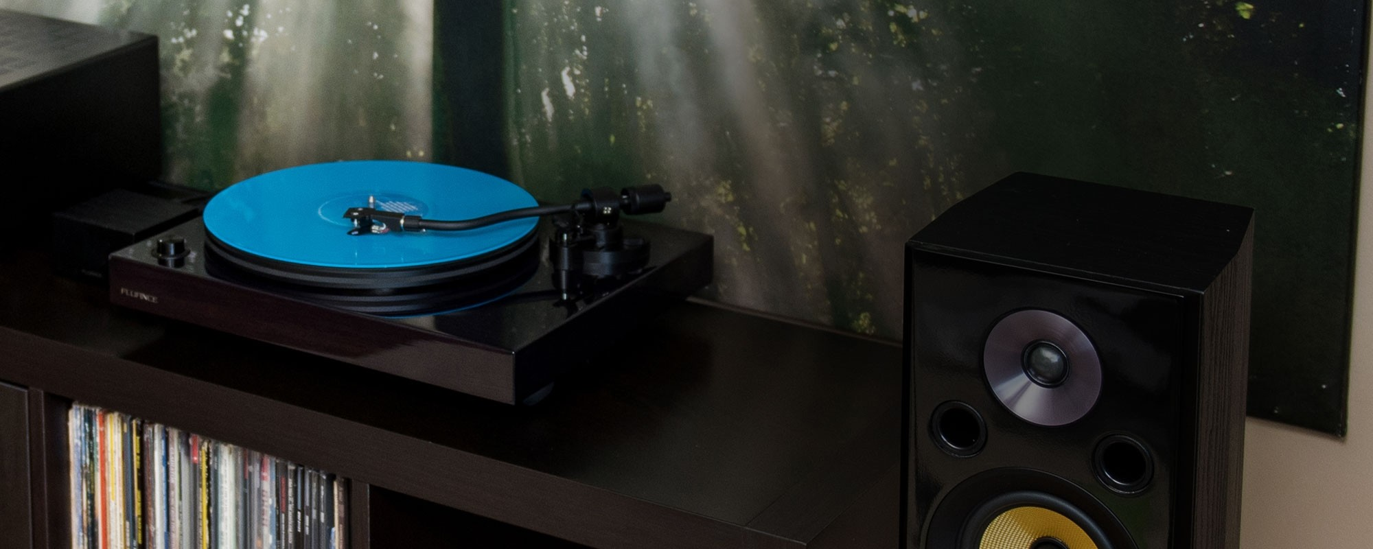 RT82 Reference High Fidelity Vinyl Turntable - LIfe Style 2