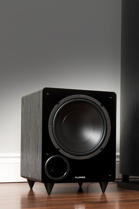DB10 10-inch Low Frequency Powered Subwoofer - Lifestyle