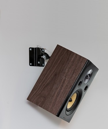 Metal Bookshelf & Satellite Speaker Adjustable Mounts - Lifestyle Mobile