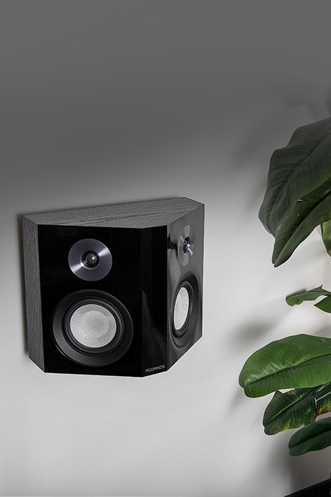 XLBP Bipolar Surround Sound Speaker on wall