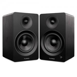 "Ai60 Powered 6.5"" High Performance Bookshelf Speakers - Black - Main 2"