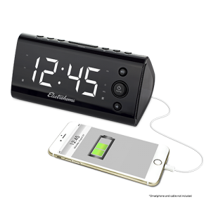 USB Charging Alarm Clock Radio - Alternate 2