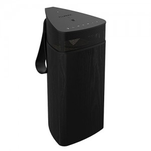 Fi20 High Performance Portable Wireless 360 Degree Speaker - Black Ash Main 2