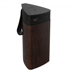 Fi20 High Performance Portable Wireless 360 Degree Speaker - Natural Walnut - Alternate 3