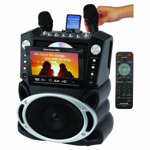 Karaoke System with 7-Inch TFT Color Screen and Record Function (GF829)