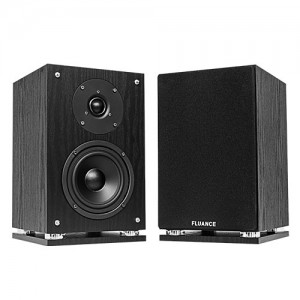 SX6-BK High Definition Two-way Bookshelf Loudspeakers